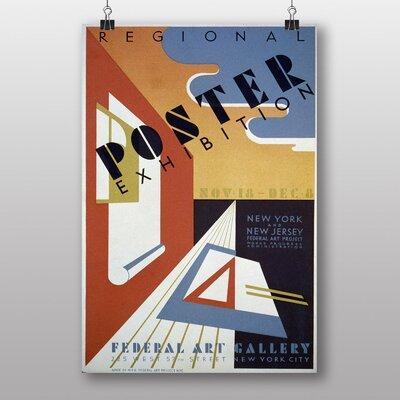 Big Box Art Exhibition No.54 Vintage Advertisement