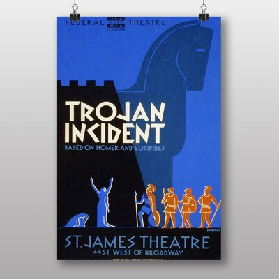 Big Box Art Trojan Incident Vintage Advertisement