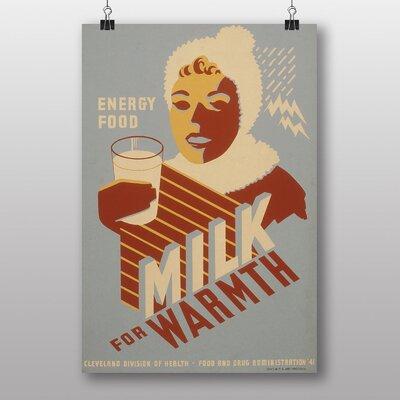 Big Box Art Milk No.3 Vintage Advertisement