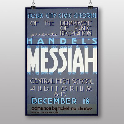 Big Box Art Handels Messiah Vintage Advertisement