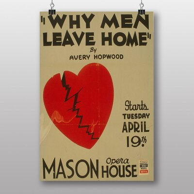 Big Box Art Why Men Leave Home No.2 Graphic Art