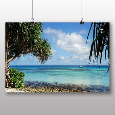 Big Box Art Tuvalu Beach Photographic Print