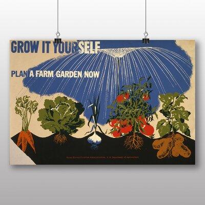 Big Box Art Grow it Yourself Vintage Advertisement