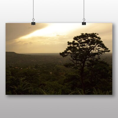 Big Box Art Uganda Landscape No.1 Photographic Print Wrapped on Canvas