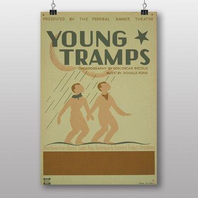 Big Box Art Young Tramps Vintage Advertisement