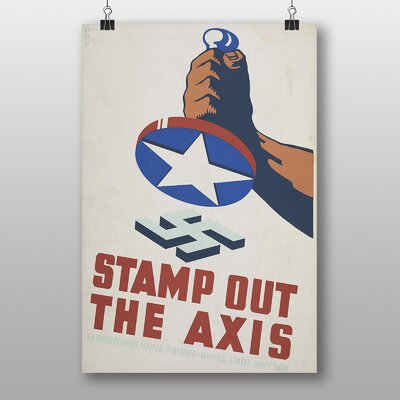 Big Box Art Stamp Out The Axis Graphic Art