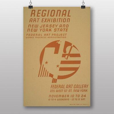 Big Box Art Exhibition No.59 Vintage Advertisement