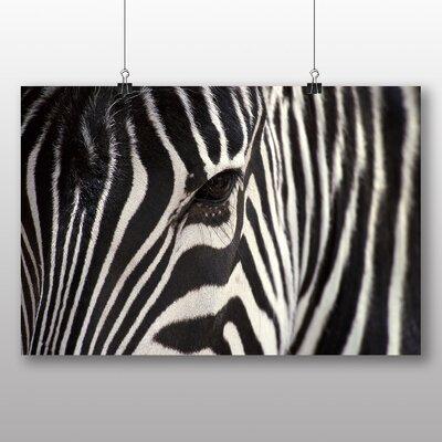 Big Box Art Zebra No.4 Photographic Print Wrapped on Canvas