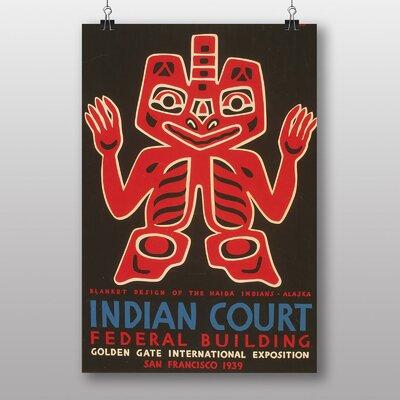 Big Box Art Indian Court No.4 Vintage Advertisement