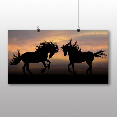 Big Box Art Wild Horses Photographic Print