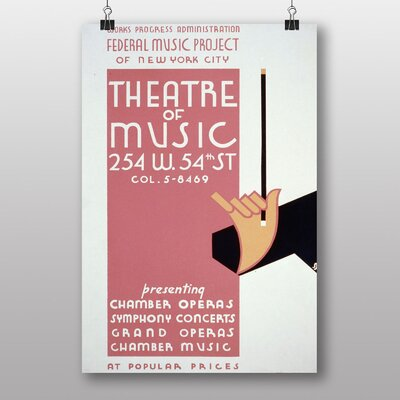 Big Box Art Music Theatre Graphic Art