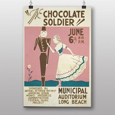 Big Box Art The Chocolate Soldier Vintage Advertisement