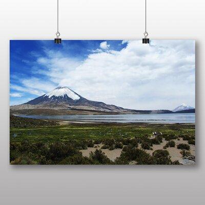 Big Box Art Volcano Parincota Chile Photographic Print