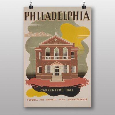Big Box Art Philadelphia Vintage Advertisement