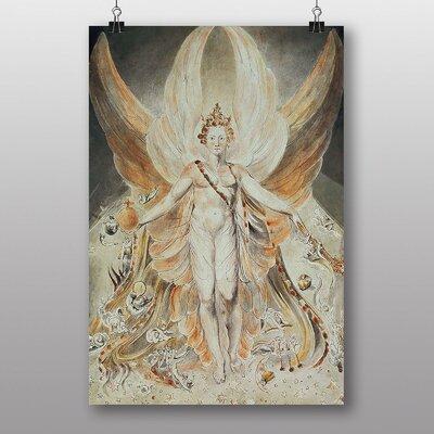 Big Box Art Satan in his Original Glory by William Blake Art Print