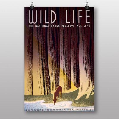 Big Box Art Wild Life Vintage Advertisement