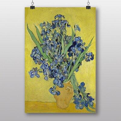 "Big Box Art ""Iris Irises Flowers No.1"" by Vincent Van Gogh Art Print"