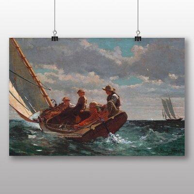 Big Box Art 'A Fair Wind' by Winslow Homer Art Print