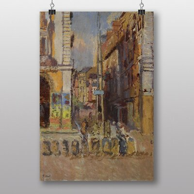 "Big Box Art ""Study for The Elephant"" by Walter Sickert Art Print on Canvas"