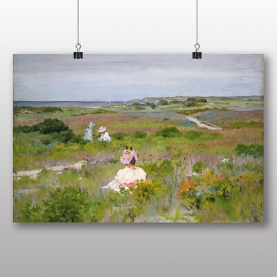 Big Box Art 'Long Island Shinnecock' by William Merritt Chase Art Print