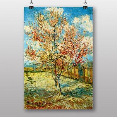"Big Box Art ""Peach Tree"" by Vincent Van Gogh Art Print"