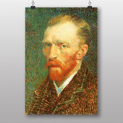Big Box Art Self Portrait No.4 by Vincent Van Gogh Art Print