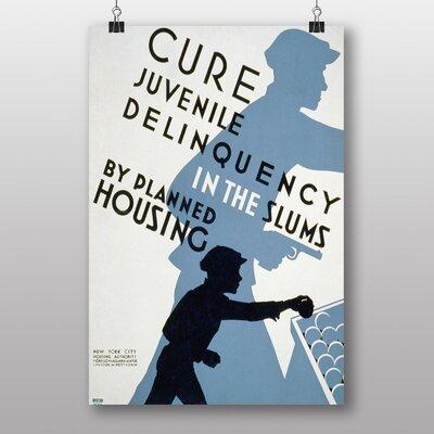 Big Box Art Juvenile Deliquency Vintage Advertisement