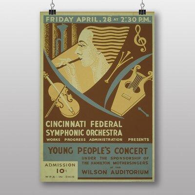 Big Box Art Symphonic Orchestra Vintage Advertisement