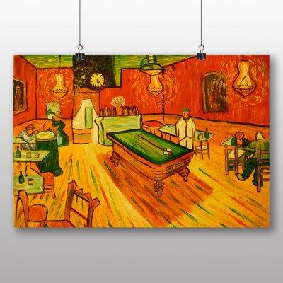 Big Box Art 'The Night Cafe' by Vincent Van Gogh Art Print
