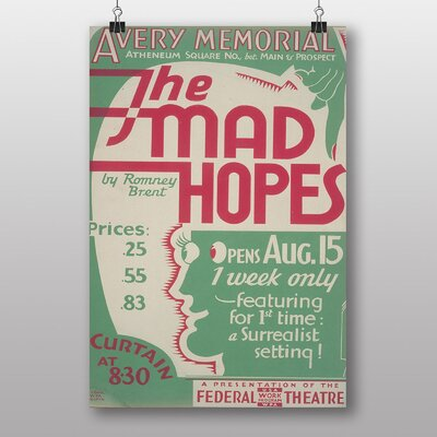 Big Box Art The Mad Hopes Typography