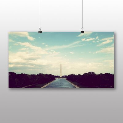 Big Box Art Washington Monument USA Photographic Print
