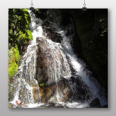 Big Box Art Waterfall No.4 Photographic Print Wrapped on Canvas