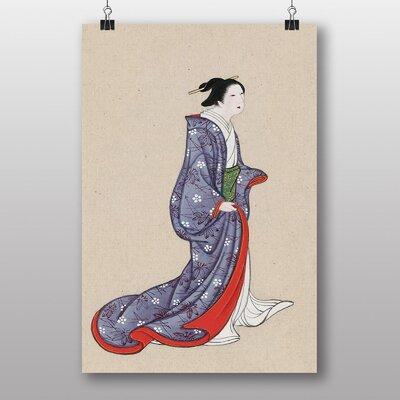 Big Box Art Woman Japanese Oriental No.2 Art Print