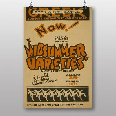 Big Box Art Midsummer Varieties Vintage Advertisement
