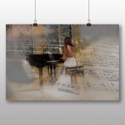 Big Box Art Woman Playing Piano No.1 Graphic Art