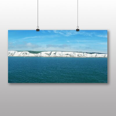 Big Box Art White Cliffs of Dover Photographic Print Wrapped on Canvas