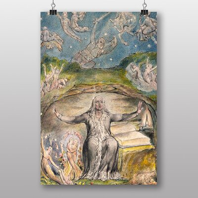 Big Box Art Illustration No.2 by William Blake Art Print