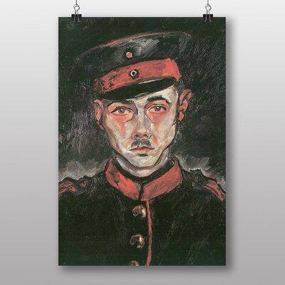 Big Box Art Self Portrait as a Soldier by Walter Gramatte Art Print