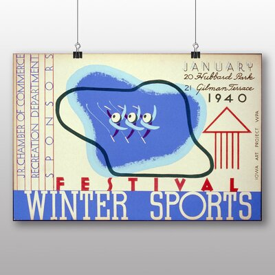 Big Box Art Winter Sports Vintage Advertisement