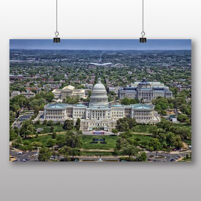 Big Box Art Washington DC The White House USA Photographic Print