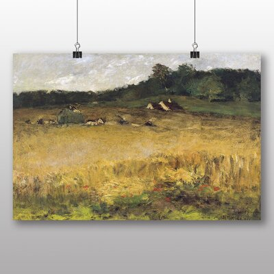 Big Box Art 'Wheat Field' by William Merritt Chase Art Print