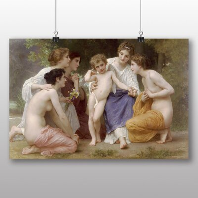 Big Box Art 'Admiration' by William Adolphe Bouguereau Art Print