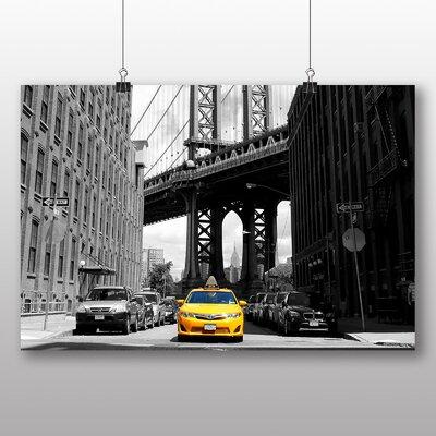 Big Box Art Yellow Taxi Cab New York City No.2 Photographic Print