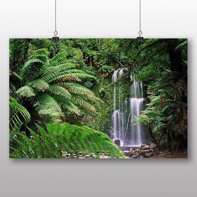 Big Box Art Waterfall No.1 Photographic Print on Canvas