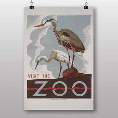 Big Box Art Visit the Zoo No.2 Vintage Advertisement