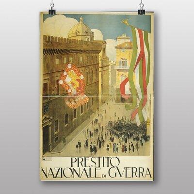 Big Box Art Plaza Italy Vintage Advertisement