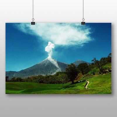 Big Box Art Volcanic Eruption Volcano Guatemala Photographic Print