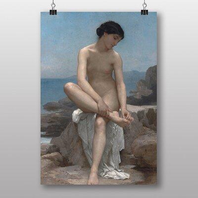 Big Box Art The Bather by William Adolphe Bouguereau Art Print