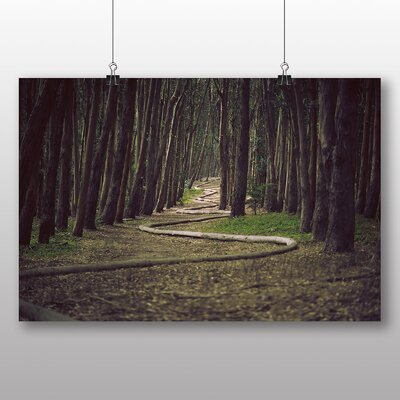 Big Box Art Woodland Snake Photographic Print on Canvas