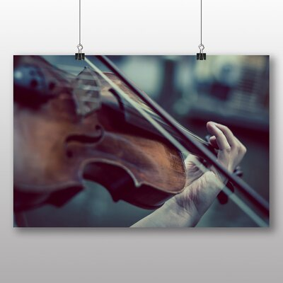 Big Box Art Violin Instrument No.3 Photographic Print